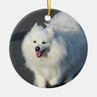 Ornamento americano del perro esquimal ornamentos para reyes magos