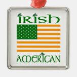 Ornamento americano irlandés ornamentos de navidad