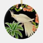 Ornamento amistoso del Cockatiel de Lutino Ornamento De Reyes Magos