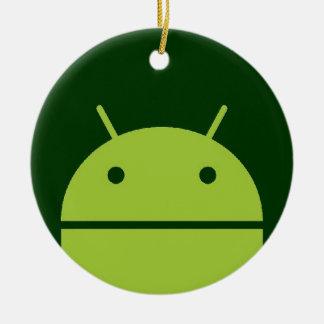 Ornamento androide ornamento para arbol de navidad
