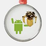 Ornamento androide del regalo adorno de reyes