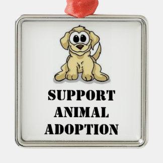 Ornamento animal de la adopción de la ayuda ornatos