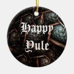 Ornamento anticuado del día de fiesta del personal adorno de navidad