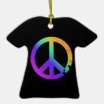 Ornamento apenado KRW de la camiseta del signo de  Adorno De Reyes