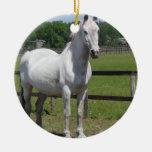 Ornamento árabe del caballo ornaments para arbol de navidad