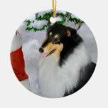 Ornamento áspero de los regalos del navidad del co adornos de navidad