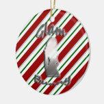 Ornamento atractivo del día de fiesta del logotipo adorno de navidad
