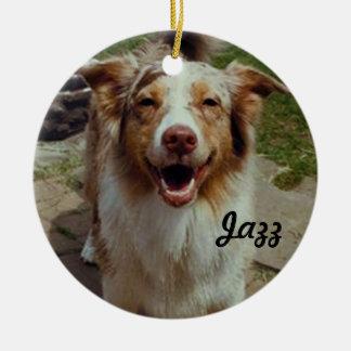 Ornamento australiano de encargo del perro ornaments para arbol de navidad