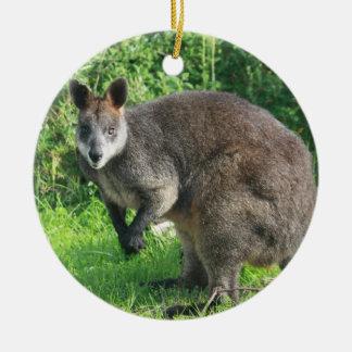 Ornamento australiano del canguro ornamento para reyes magos