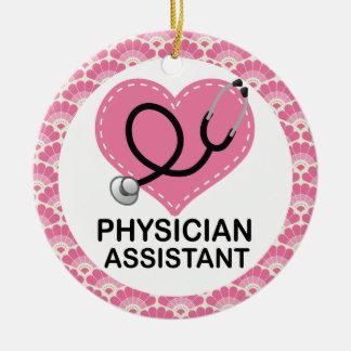 Ornamento auxiliar del regalo del médico adornos