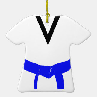 Ornamento azul claro del uniforme de la correa de ornamento de reyes magos