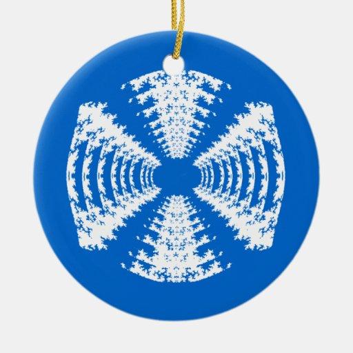 Ornamento azul del caramelo duro adorno para reyes