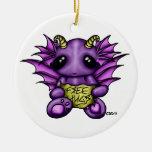 Ornamento banal libre del dragón de Hugz Ornamentos Para Reyes Magos