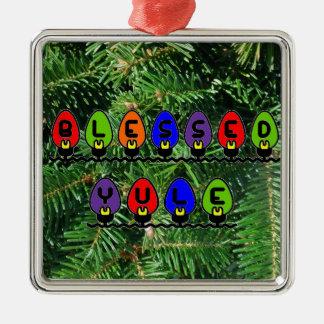 Ornamento bendecido de Yule Ornamento De Navidad