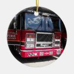 ornamento bilateral del coche de bomberos ornato