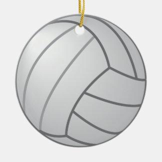 Ornamento bilateral del voleibol adornos de navidad