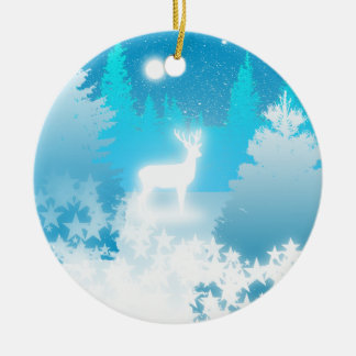 Ornamento blanco de Yule del macho Ornaments Para Arbol De Navidad