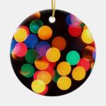Ornamento borroso del navidad de las luces ornaments para arbol de navidad