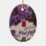 Ornamento brillante del Año Nuevo Ornamentos Para Reyes Magos