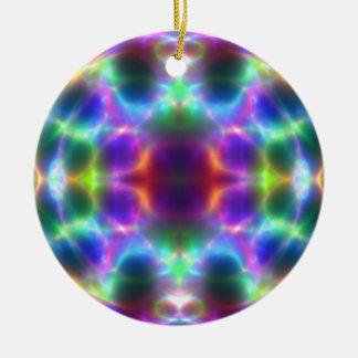 Ornamento brillante del navidad del arte ornato