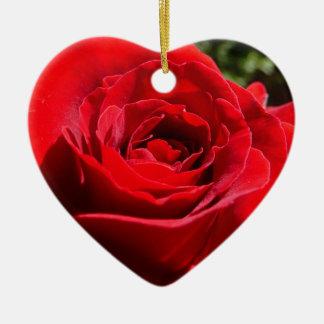 Ornamento brillante del rosa rojo ornamento para arbol de navidad