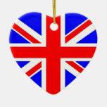 Ornamento BRITÁNICO de la bandera Ornamento Para Reyes Magos