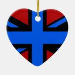 Ornamento BRITÁNICO de la bandera Ornato