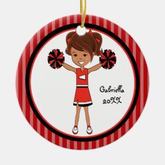 Ornamento cabelludo lindo del navidad de la animad adorno para reyes