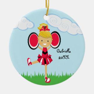 Ornamento cabelludo rubio lindo del navidad de la  ornamento para reyes magos