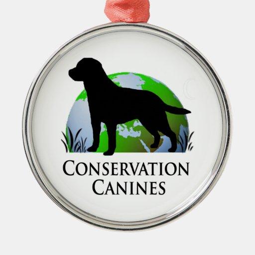 Ornamento canino del árbol de navidad de la protec ornato