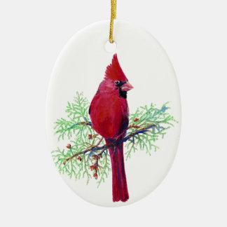 Ornamento cardinal del navidad adorno de navidad