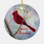 Ornamento cardinal del navidad ornamentos para reyes magos