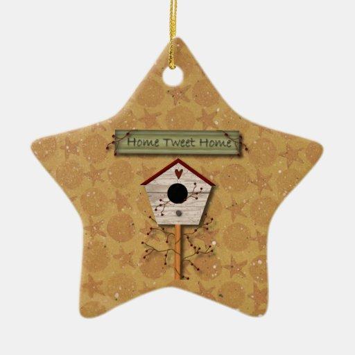 Ornamento casero del hogar del pío adorno