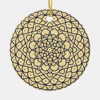 Ornamento celestial del día ornamento para arbol de navidad