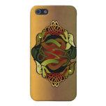 Ornamento céltico del dragón iPhone 5 funda