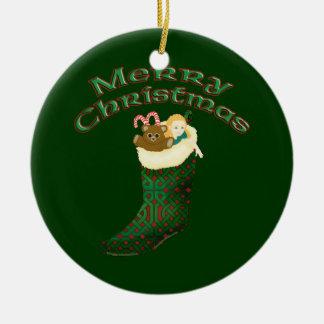Ornamento céltico del navidad - Felices Navidad Adorno De Navidad