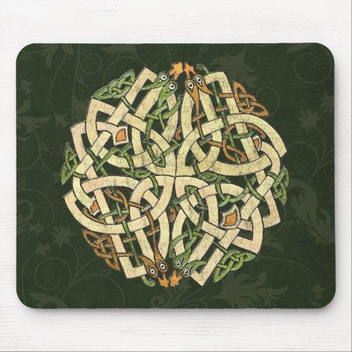 Ornamento céltico tapetes de ratones