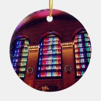 Ornamento central magnífico de las luces de adornos de navidad