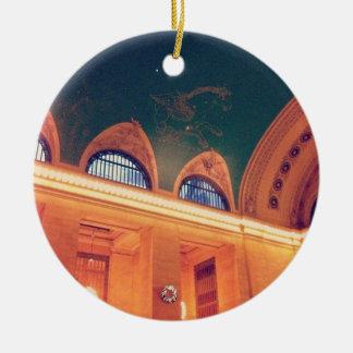 Ornamento central magnífico del techo de la adorno navideño redondo de cerámica