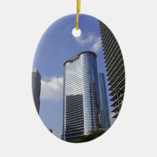 Ornamento céntrico de Houston Adorno De Navidad
