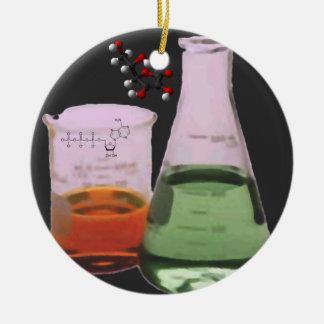Ornamento Chem-Periódico de la tabla del elemento Ornamentos De Reyes Magos