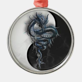Ornamento chino del cuadrado del dragón de Yin Yan Ornamento De Reyes Magos
