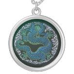 Ornamento chino del dragón joyeria personalizada