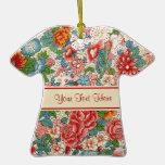 Ornamento chino floral ornamente de reyes