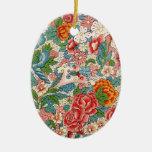 Ornamento chino floral ornamento para reyes magos