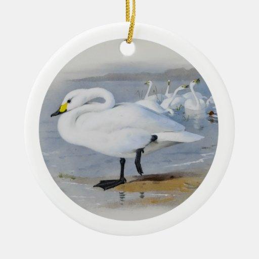 Ornamento-Cisnes Ornamento De Reyes Magos