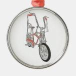 Ornamento clásico de la bici de la bicicleta de la adornos
