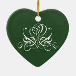 Ornamento color de rosa irlandés adorno de reyes