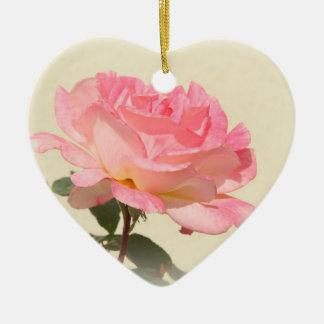 Ornamento color de rosa rosado ornamentos para reyes magos