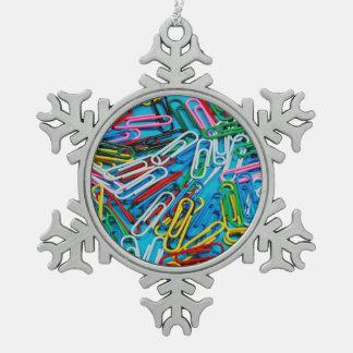 Ornamento colorido del navidad del modelo de los adorno